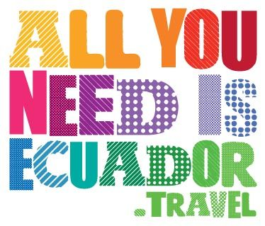 All You Need Is Ecuador Logo